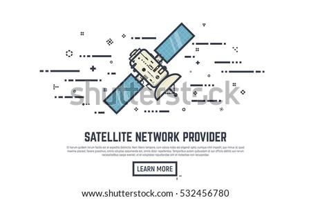 earth satellite network
