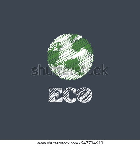 earth vector eco