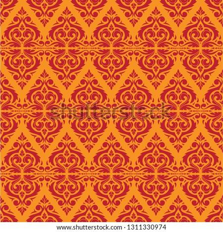 east java seamless pattern