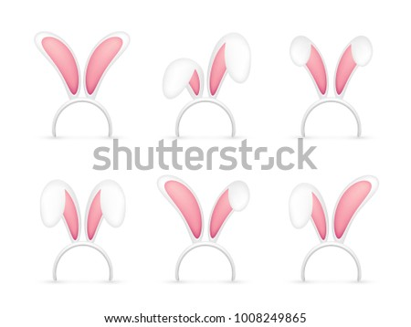 easter bunny ears pink and