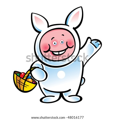 funny easter bunny pics. stock vector : Easter Bunny