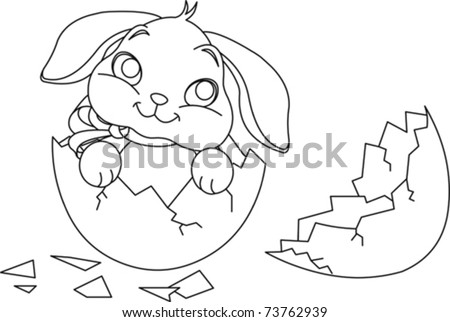 cute easter bunny coloring pictures. cute easter bunnies coloring