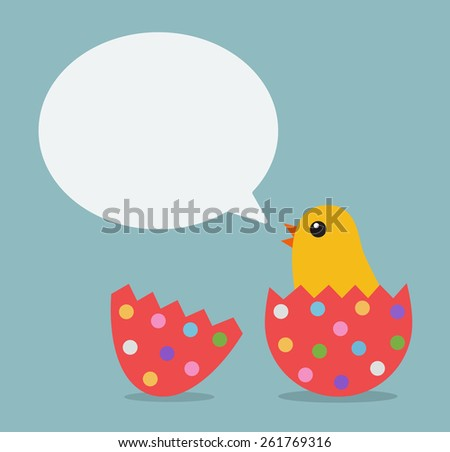 easter chicken bubble talk