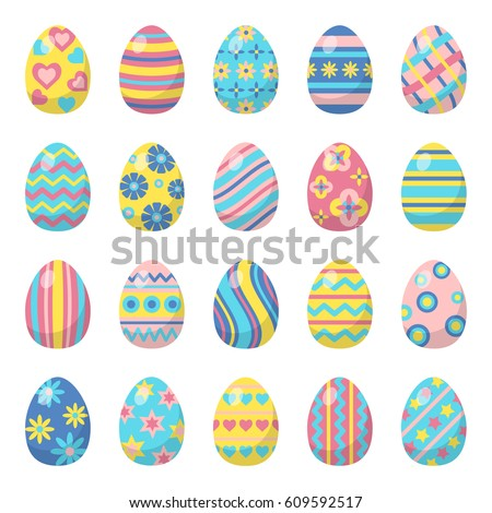 easter eggs for easter holidays