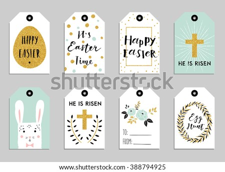 Cute easter gift tag download free vector art stock graphics easter gift tags with cute easter bunny watering can with flowers and easter greetings negle Image collections