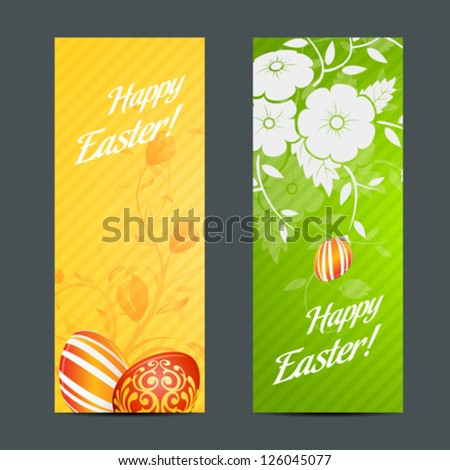 easter holiday set with two