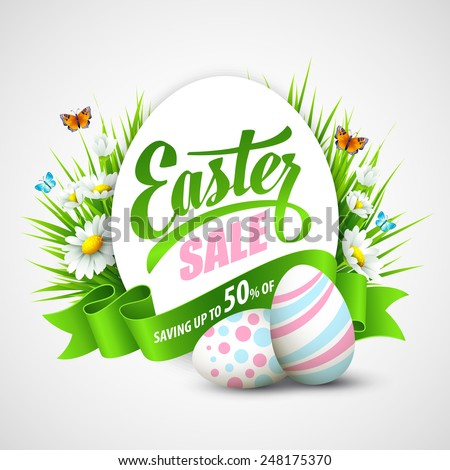 easter poster vector