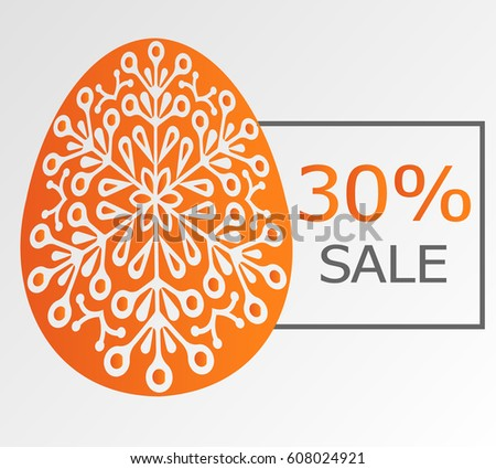 easter sale 30 percent on the