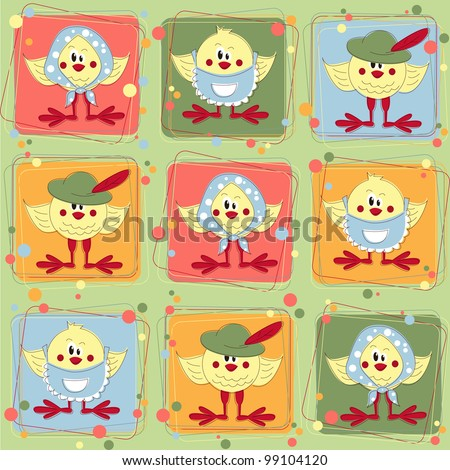 Little Country Chicken, an Easy Quilt Pattern
