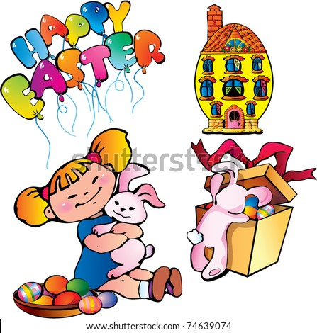 happy easter clip art. happy easter clip art images.
