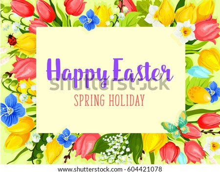 easter spring holiday greeting