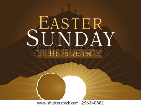 Empty tomb vector download free vector art stock graphics images greetings invite vector card calvary sunrise with stopboris Gallery