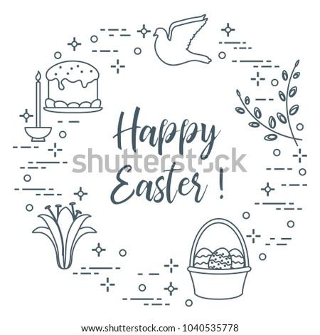 easter symbols easter cake