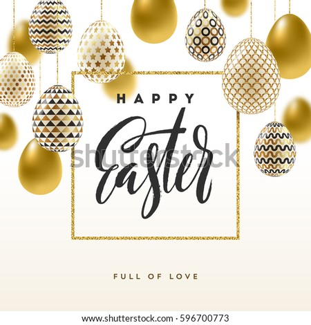 easter vector illustration with