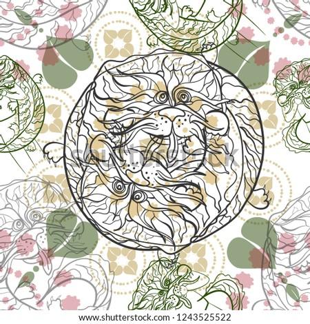 eastern dragon linear pattern