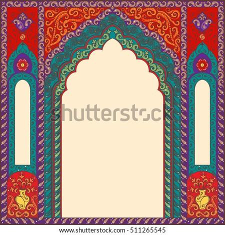 eastern multicolored frames ...