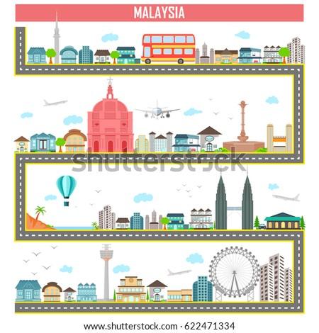 City map generator  City map example … Stock Photo 313714922