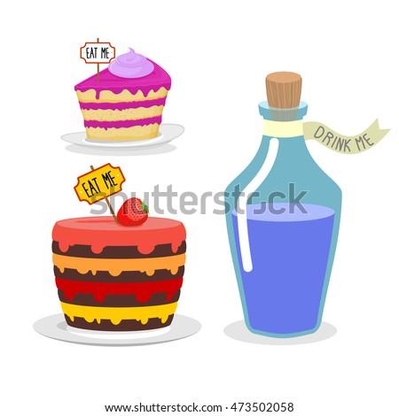eat me cake drink me potion