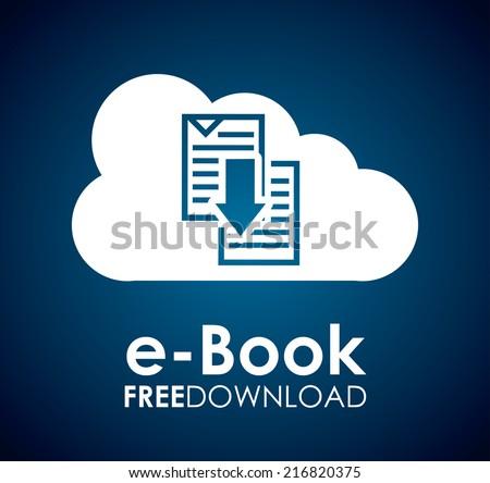 ebook graphic design  ,vector illustration