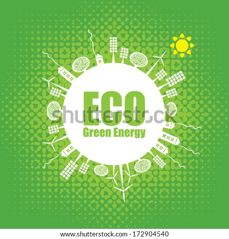 eco banner of alternative