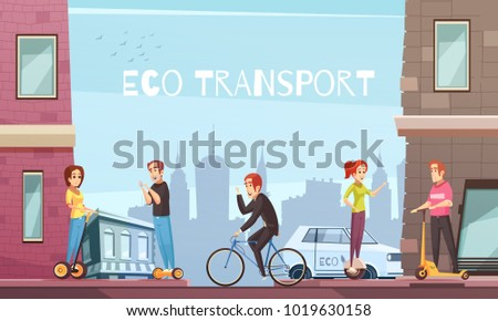 eco city transport with