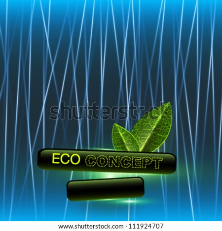 eco concept background.vector design