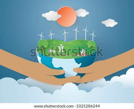 eco earth day and world