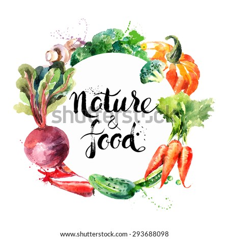 eco food menu background