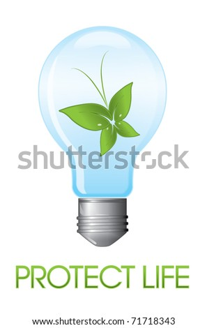 Eco-friendly bulb protecting life