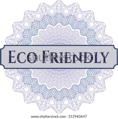 Eco Friendly linear rosette