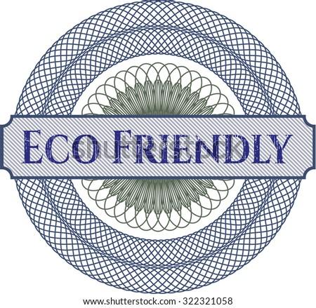Eco Friendly rosette
