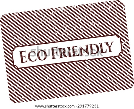 Eco Friendly rubber stamp