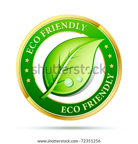 eco friendly website icon