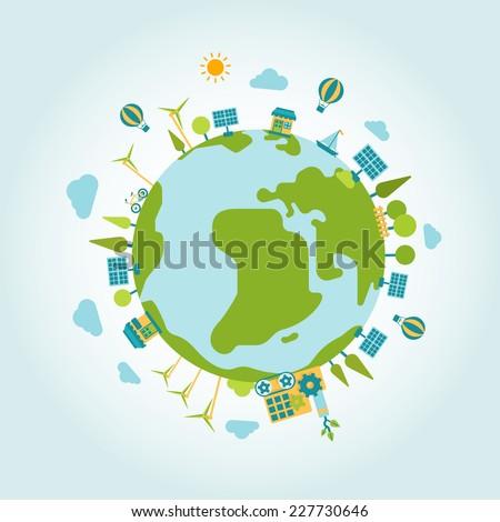 eco green energy lifestyle