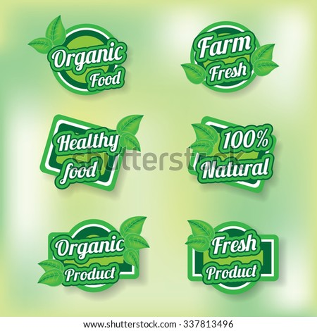 eco green labels
