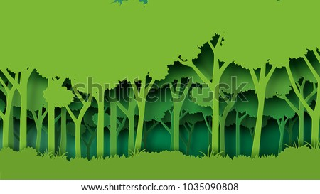 eco green nature forest