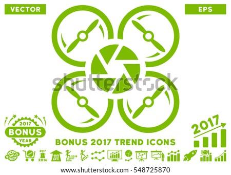 eco green shutter drone icon