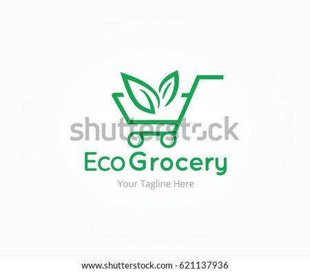 Eco Groceries Logo Templates