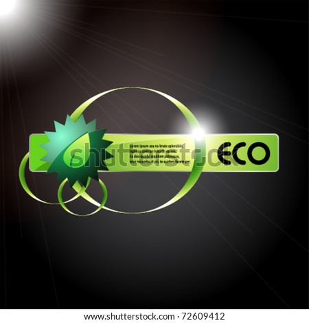 eco information icon for web