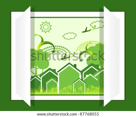 Eco life from window