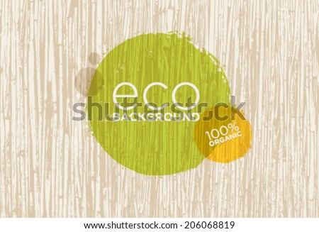 Eco Organic Vector Background With Outstanding Cane Texture stock photo