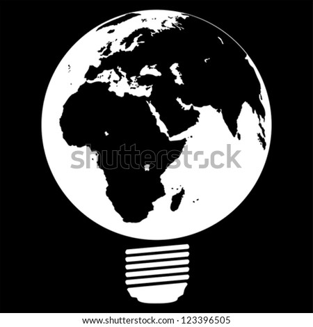 ECO- save the earth, vector
