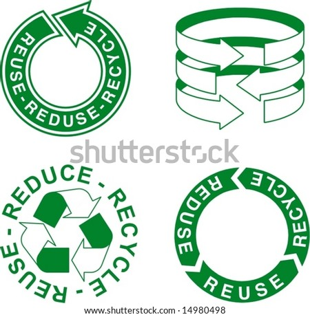 reduce recycle reuse. reuse, reduce, recycle
