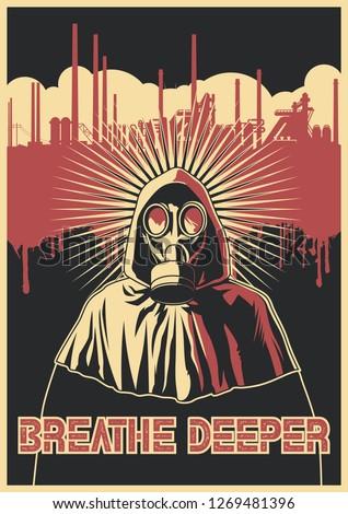 ecological propaganda poster