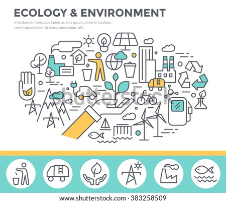 ecology and environment concept