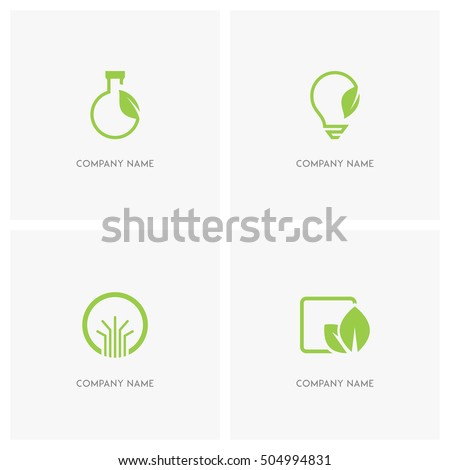 ecology and nature vector logo