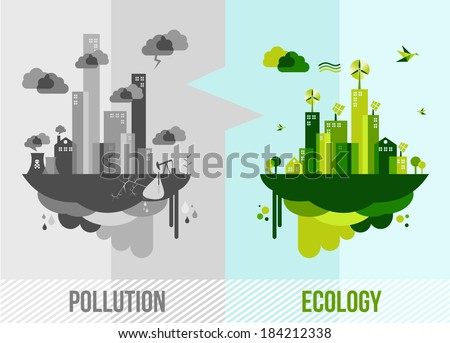 ecology and pollution city