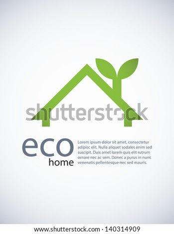 Stock Photo Ecology background, EPS10 vector.
