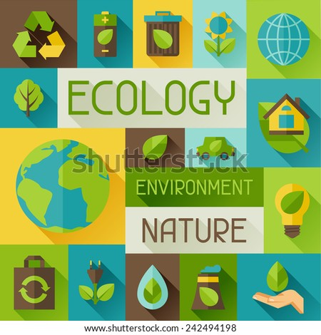 ecology background with