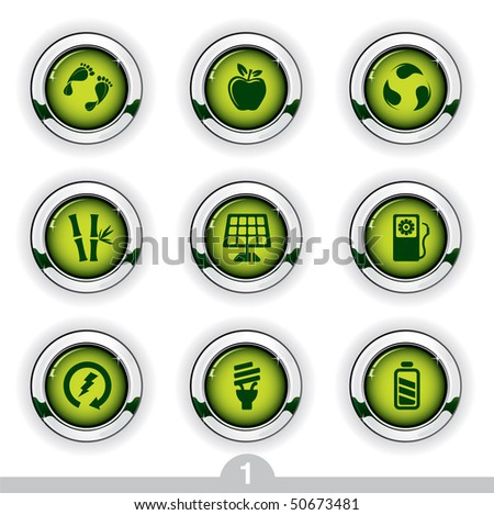 Ecology button series 1